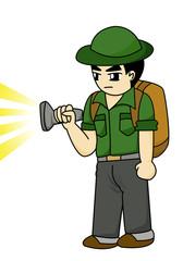 traveler cartoon