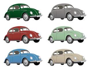 Käfer, verschiedene Farben