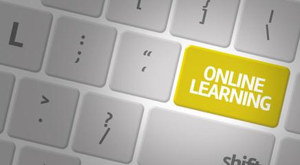 Online Learning computer keyboard