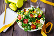 Healthy fitness salad - 61036474