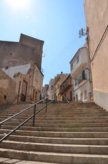 Centre ville de PortBou, Espagne