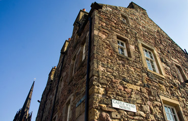 Royal mile corner
