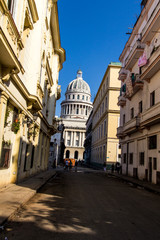capitolio cuban street view