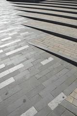 Escaliers, Figueres, Espagne