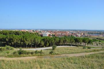 Ville de Figueres en Espagne