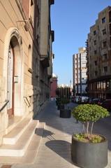 Rue de Figueres en Espagne