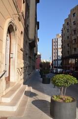 Centre ville de Figueres, Espagne