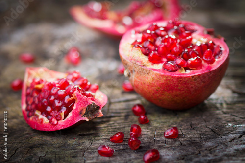 Fotobehang Vruchten Pomegranate