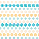 Fototapety Vector texture circles stripes abstract seamless pattern