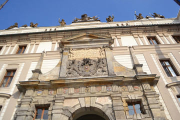 Palace in Hradcany, the Prague castle in Prague.