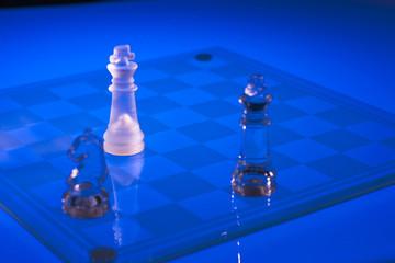 ajedrez de cristal