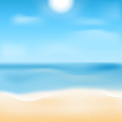 sea coast.natural background.waterscape.beach.vector