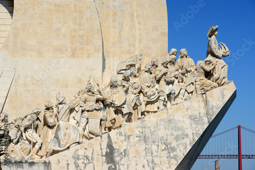 Monument to the Discoveries at Belem district, Lisbon, Portugal