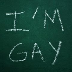 I am gay