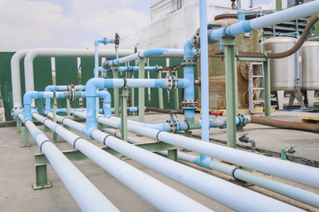 PVC Chemical pipe line