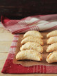 Easter hand pies with apples, cinnamon, nutmeg