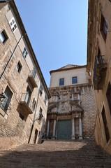 Vieille ville de Gérone en Espagne