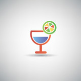 Drinks symbol,vector
