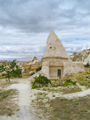 domed house in Cappadocia