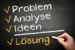 Problem Analyse Lösung Erfolg