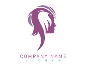 Profile woman logo