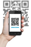 QR code scanning application