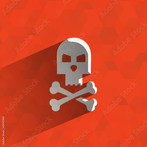 Jolly Roger. Vector format