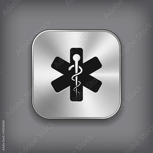Caduceus Medical Symbol Icon