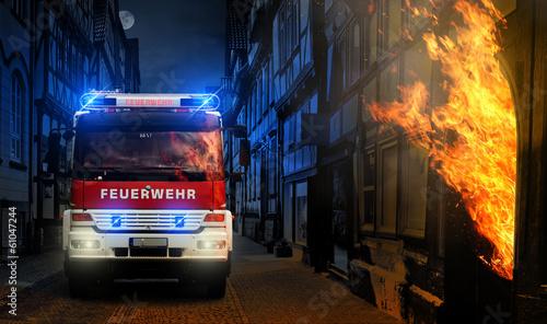 Ogień w mieście