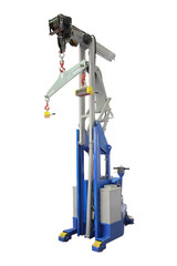 The image of industrial magnet crane