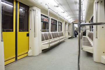 The image of a subway