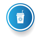 Coffee zone symbol,vector