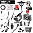 Medical set,vector