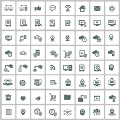 Website icons,Networking icons