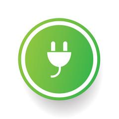 Energy plug symbol,vector