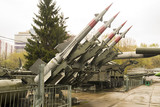 Russian Military Four Rocket Launcher System Base