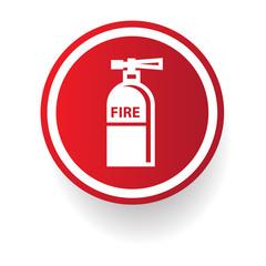 Fire symbol,vector