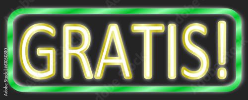 Gratis Schild Neon #140203-svg07