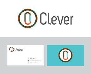 Clever logo