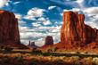 Zdjęcia na płótnie, fototapety, obrazy : Monument Valley