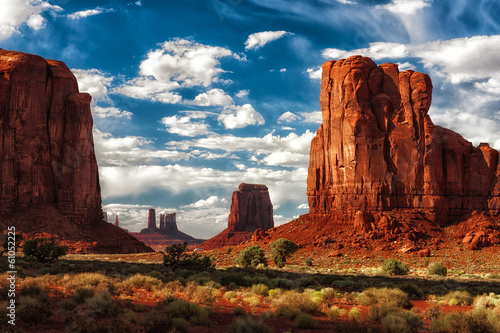 Fotobehang Natuur Park Monument Valley