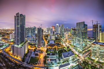 Miami Florida Skyline Panorama