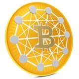 3d close-up of golden Bitcoin coin