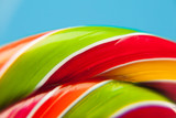 colorful lollipop candy backdrop