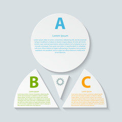 Abstract paper infographic.
