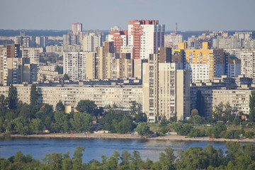 Residential district in Kiev.