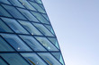 Rhomboid-grid glass wall texture