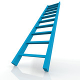 Blue ladder