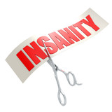 Cut insanity