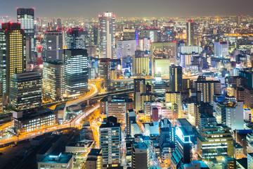 Osaka umeda night